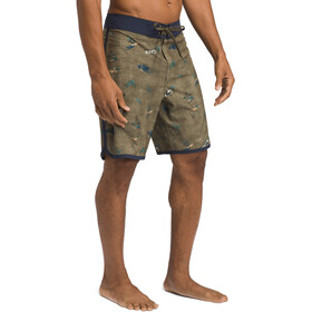 Prana High Seas Boardshorts Herr green big ssland